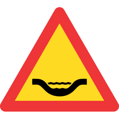 TW350 - Temporary Drift Road Sign