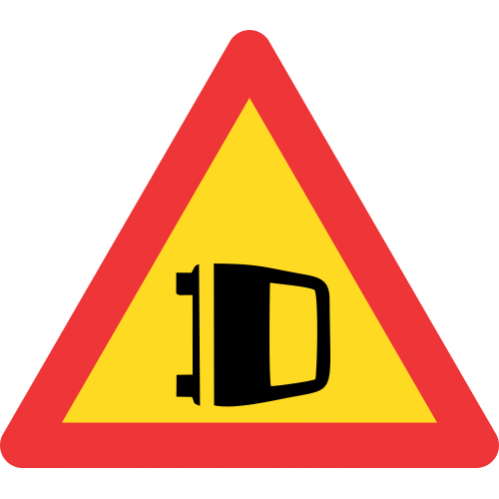 TW353 - Temporary Accident Road Sign
