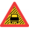 TW354 - Temporary Reduced Visibility Road Sign