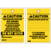 STC10 - Caution Do Not Alter Tag
