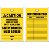 STC14 - Caution Scaffold Unsafe Tag