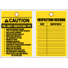 STC15 - Pre Shift Inspection Tips Tag
