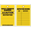 STC1 - Safety Harness Required Tag