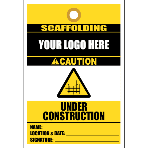 STC12 - Scaffold Under Construction Tag