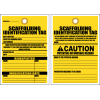 STC11 - Scaffolding Identification Tag