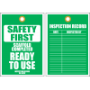 STS6 - Safety First Scaffold Completed Tag