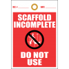 STU4 - Scaffold Incomplete Tag