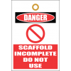 STU9 - Scaffold Incomplete Tag