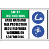SC23 - Safety Instructions Sign