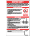 SC33 - Scaffold Safety Regulations Sign