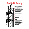 SC12 - Scaffold Safety Sign