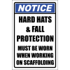 SC8 - Scaffolding Notice Sign