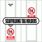 Scaffolding Tag Holders