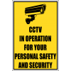 SE80 - CCTV In Operation Sign