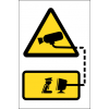 SE83 - Monitored CCTV Sign