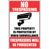 SE36 - No Trespassing Sign