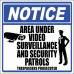 SE8 - Notice Area Under Video Sign
