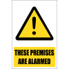 SE78 - Premises Are Alarmed Sign