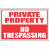 SE33 - Private Property Sign