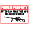 SE51 - Private Property Sign