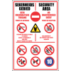 SE55 - Security Area Sign