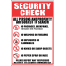 SE38 - Security Check Sign