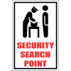 SE23 - Security Search Point Sign