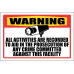 SE85 - Warning All Activities Recorded Sign