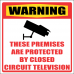 SE53 - Warning Closed Circuit Television Sign