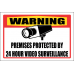 SE10 - Warning Premises Protected By Sign
