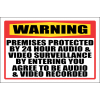SE4 - Warning Premises Protected Sign