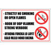 SM14 - No Smoking Or Flame Sign