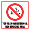 SM6 - Non Smoking Area Sign
