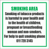 SM19 - Quit Smoking Sign