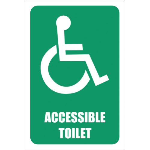 T11 - Accessible Toilet Sign
