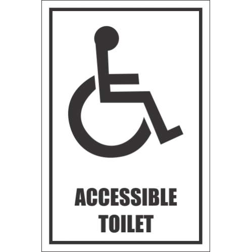 T39 - Accessible Toilet Sign