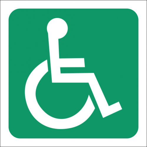 T6 - Accessible Toilet Sign