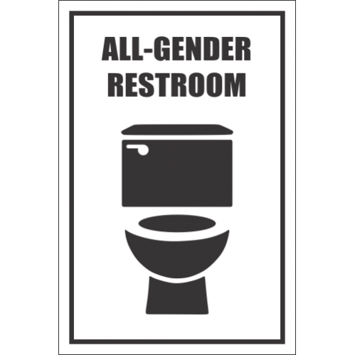 T40 - All Gender Restroom Sign