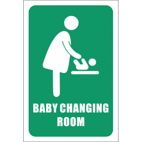 T12 - Baby Changing Room Sign