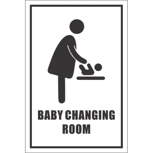 T38 - Baby Changing Room Sign