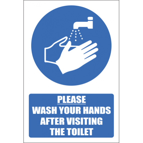 T15 - Please Wash Your Hands Sign