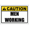 WF17 - Caution Men Working Sign