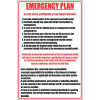 WF9 - Emergency Plan Sign