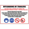 WF3 - Offloading Of Trailers Sign